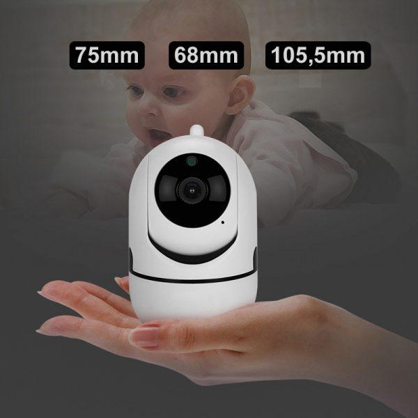 Caméra de surveillance IP intérieur 1080 P sans fil
